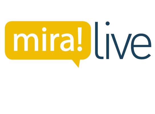 Miralive logo